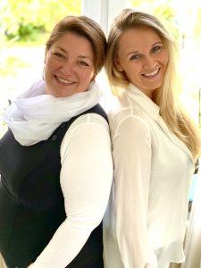Friederike von Bredow und Anna-Lena Hillgruber